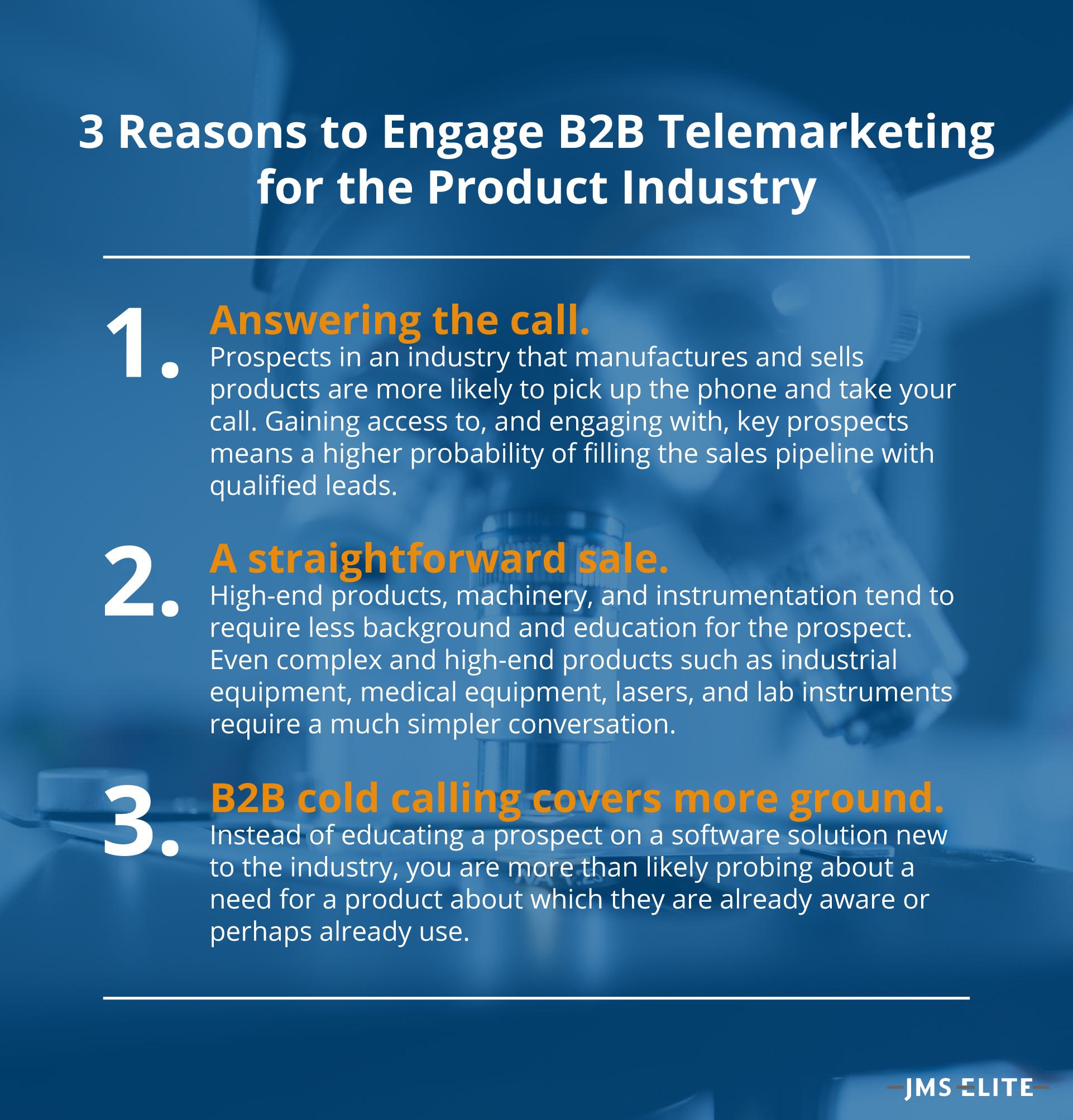 3 Reasons to Engage B2B Telemarketing