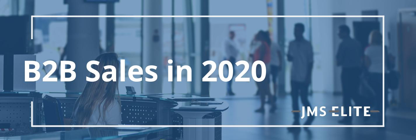 B2B Sales in 2020